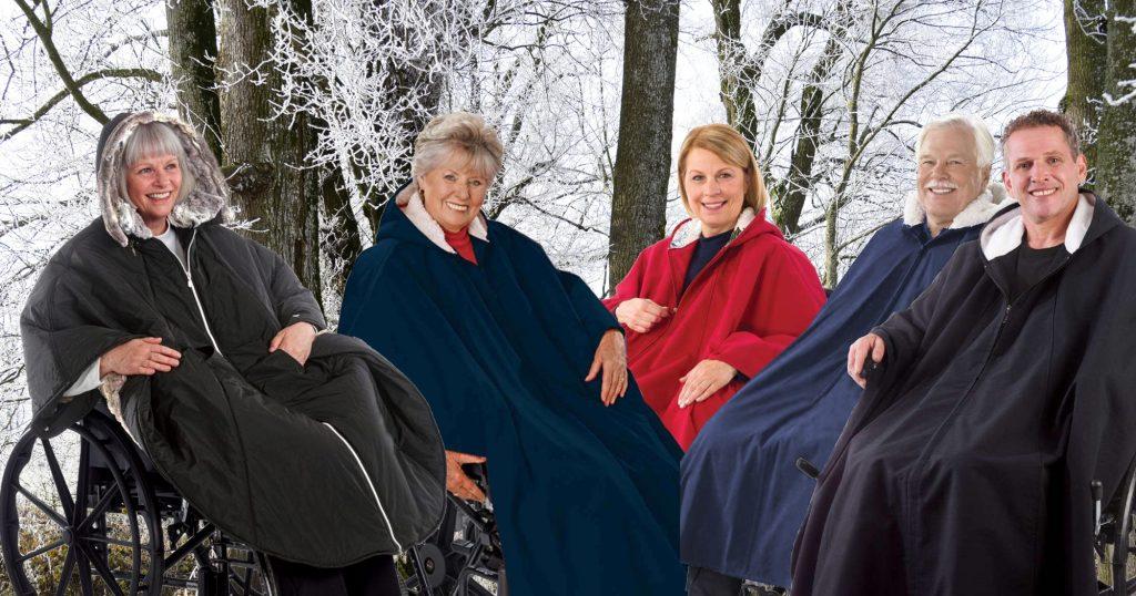 Wintercapes für Rollstuhlfahrer - barrierefrei kleiden ...